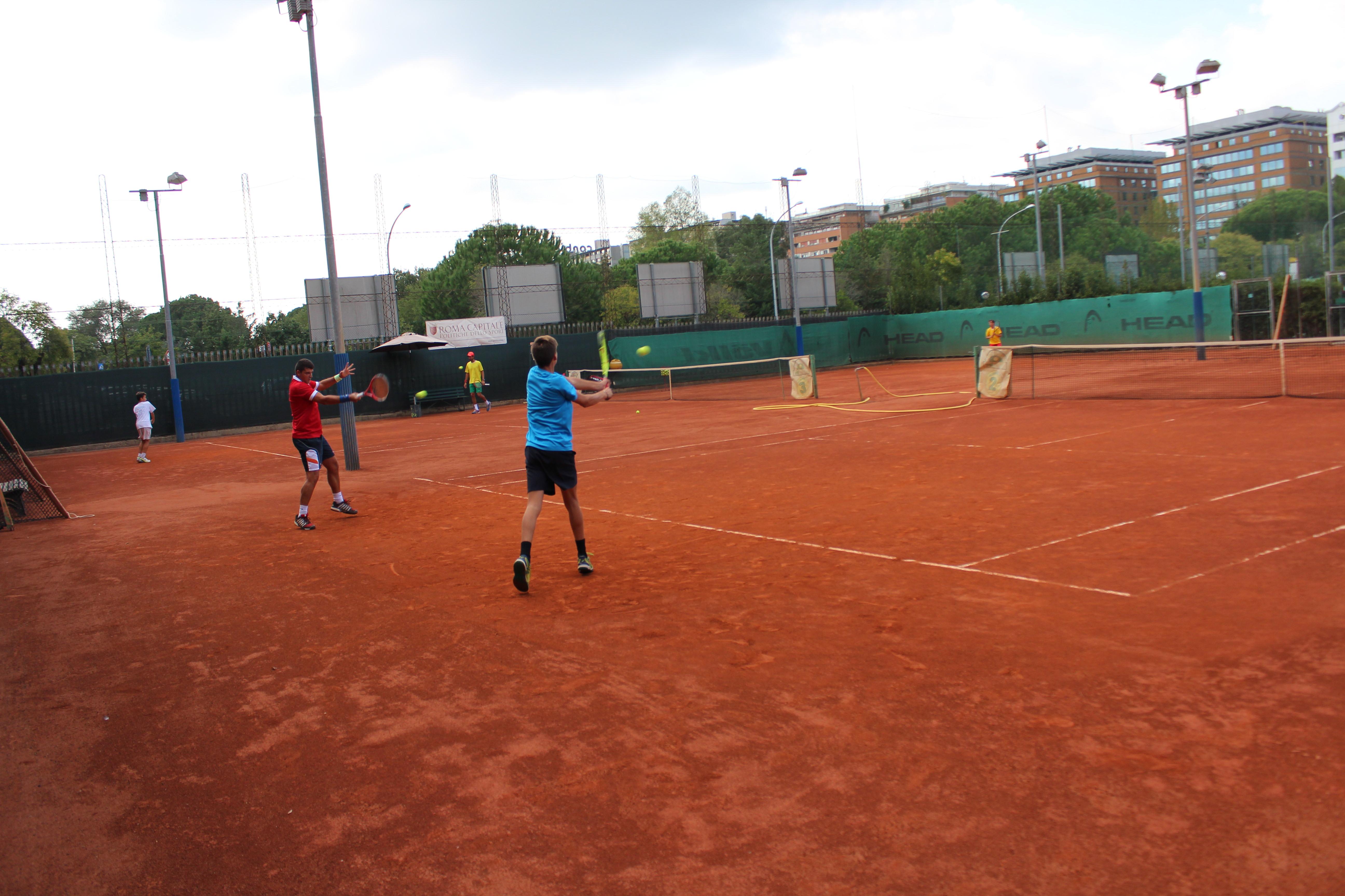 Campi Da Tennis Roma.Impianto